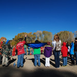 Elementary students come to the Hutchinson Homestead to learn regional history.