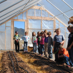 Field trip to the Salida School Gardens.