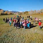 Elementary students visit the Hutchinson Ranch and Homestead as part of their regional history section.
