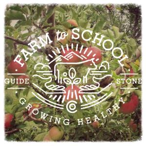 apples farm to school logo