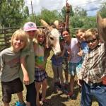 delbert and kids